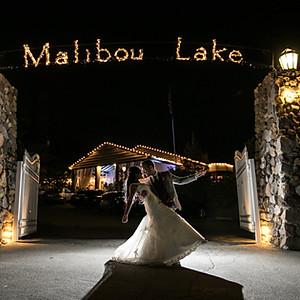Malibou Lake Lodge Wedding