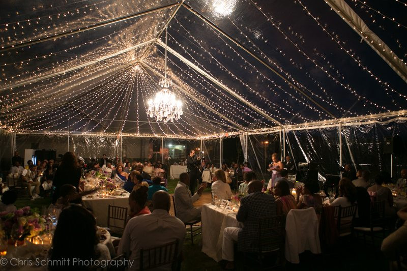 santa barbara tent wedding