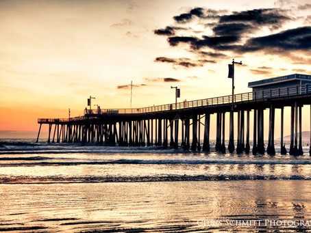 Pismo Beach Pier Photo HDR
