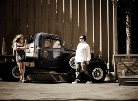 Paramount Backlot e-session | Sandy + Navid