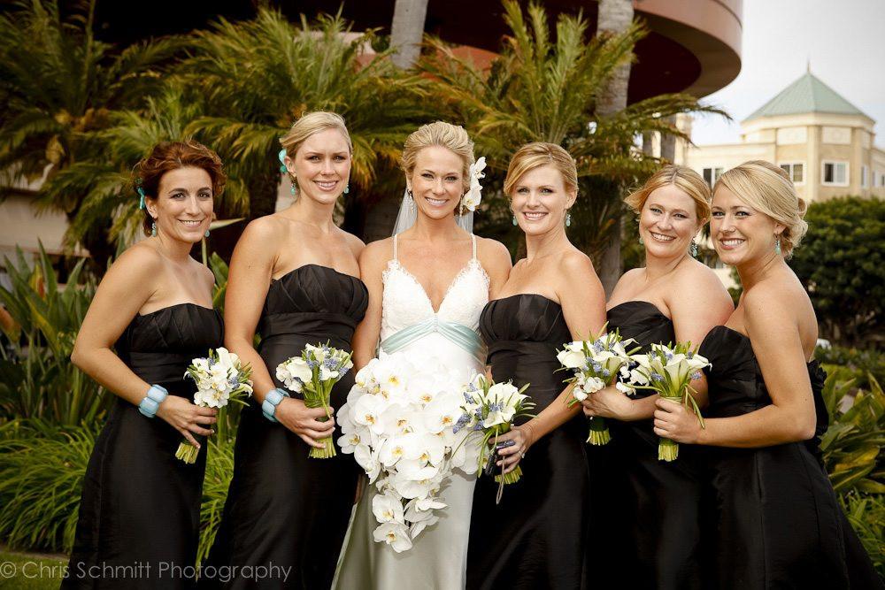 marina del rey marriot wedding pictures