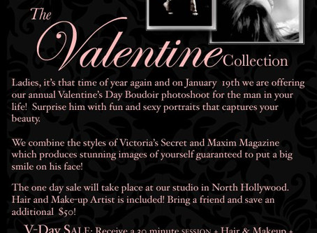 2013 Boudoir Valentines Day Photoshoot Sale