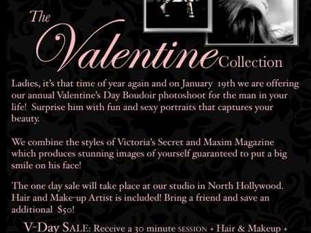2013 Boudoir Valentines Day Photoshoot Sale