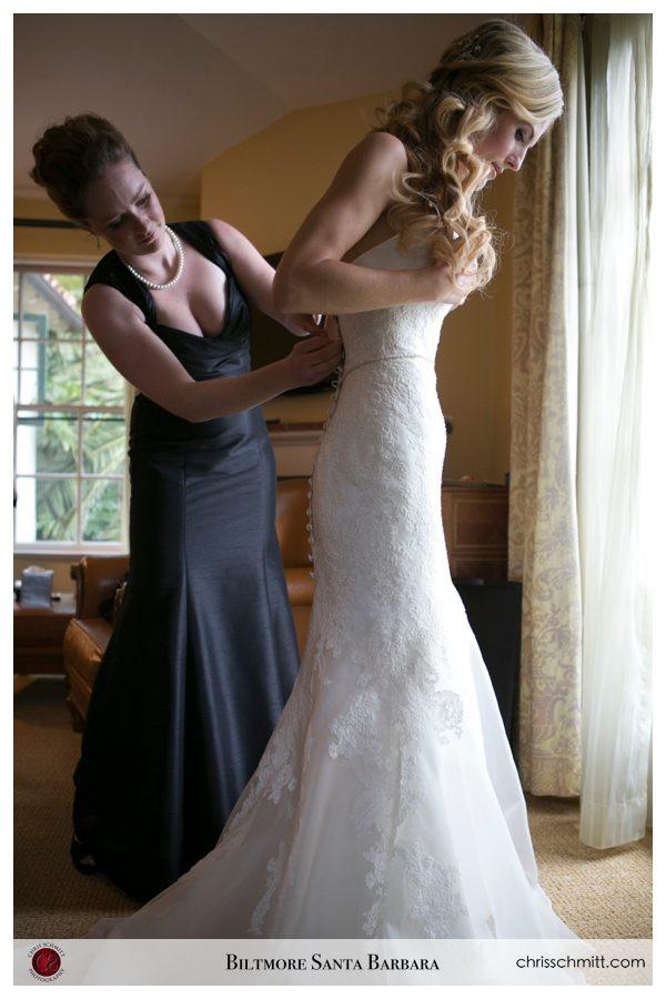 4 seasons Santa Barbara Wedding Bride