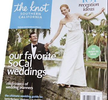 Rancho del Cielo Wedding | featured in The Knot Magazine
