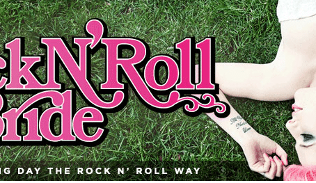 Rock n Roll Bride features Amy and Daylen's Vegas Wedding