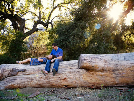 Malibu Creek Engagement Session| Scott + Daniela