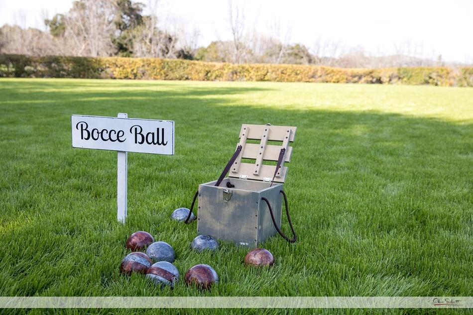 bocce ball wedding