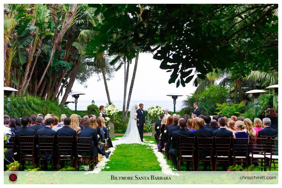 4 seasons Santa Barbara Wedding Ceremony