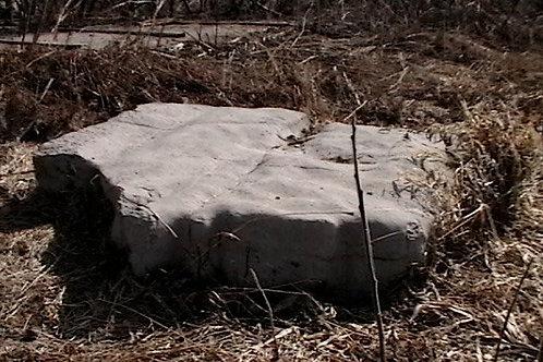 018 faux limestone boulder