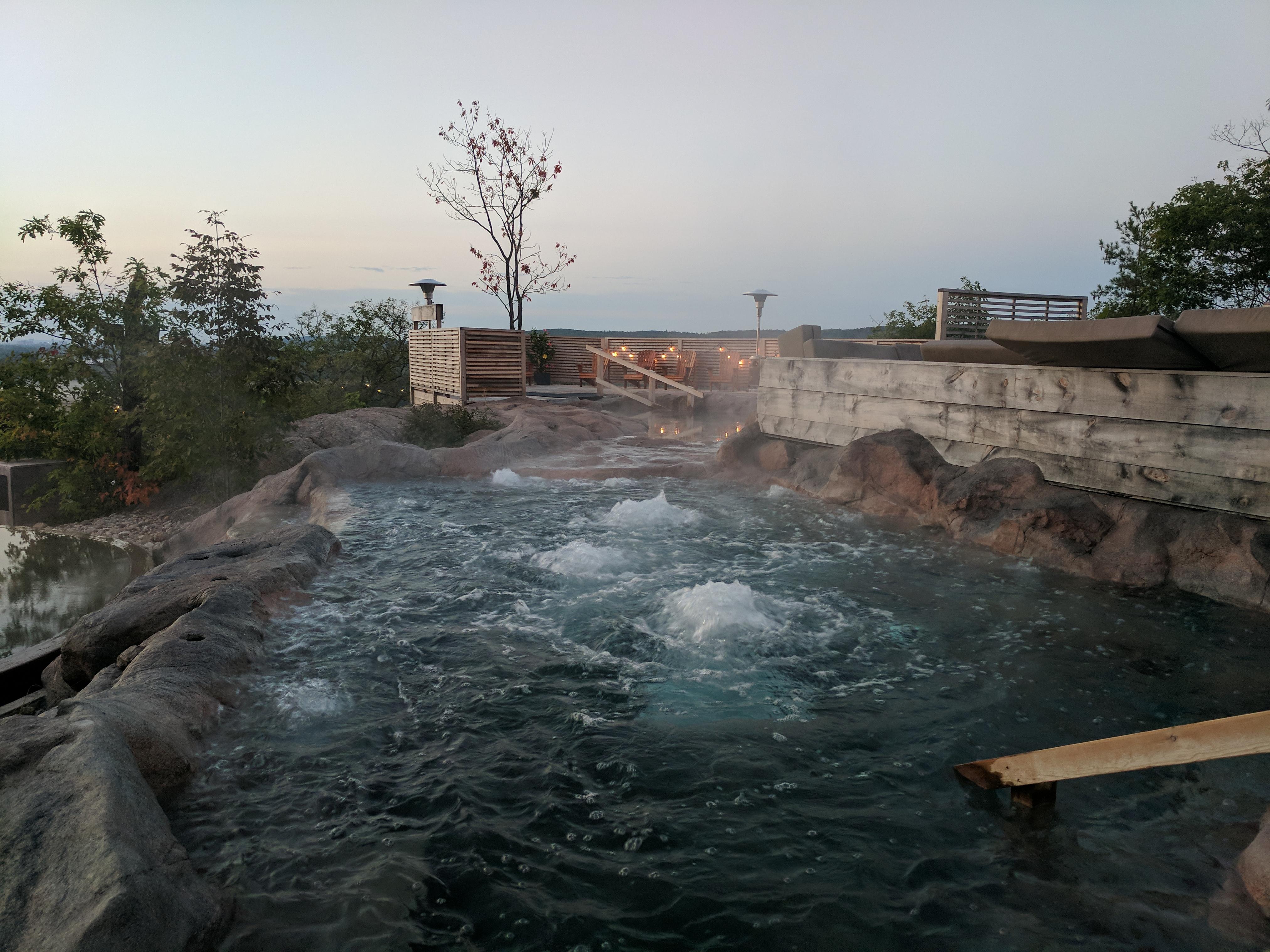 40 person Hot tub!