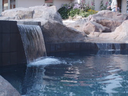 Spa and Stream waterfall