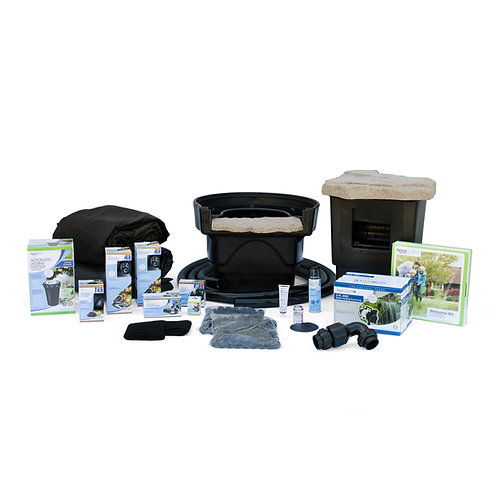 Professional grade Medium Pond Kit 11'*16' with 3pl 3000 pump