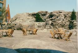 Hotel Ramas Spa deck