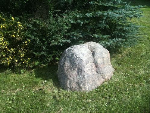 003b - painted Faux Granite Boulder