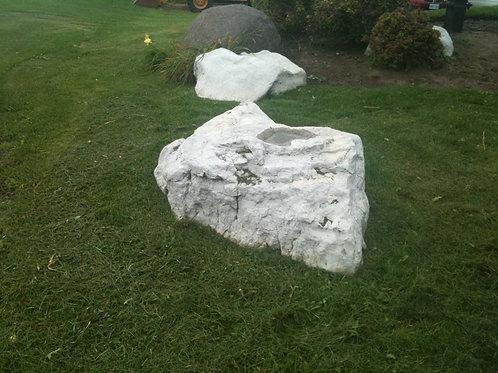 011 Faux Limestone Boulder