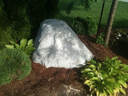 003a Faux Granite Boulder  - Non Painted - Grey