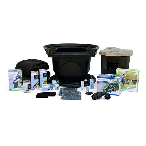 Large Pond Kit 21x26 with AquaSurge 4000-8000 Pond Pump