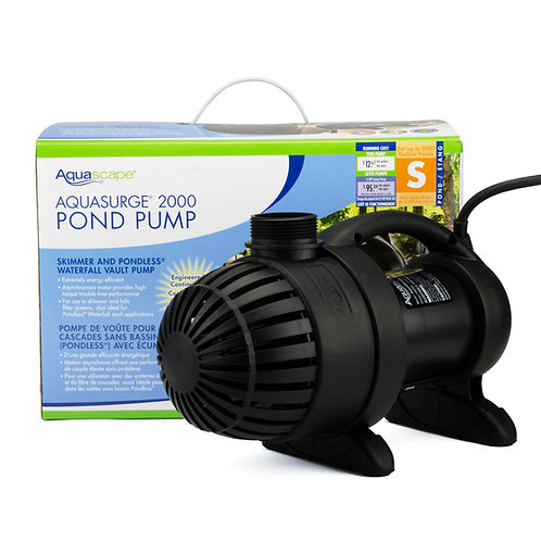 Aquasurge 2000 Pond Pump