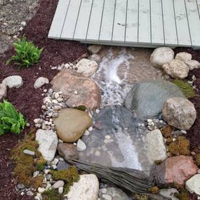 Top view of the Pondless waterfall.mp4