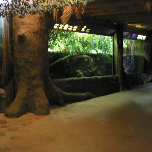 Artificial Trees and Aquariums