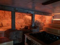 Featured sauna wall