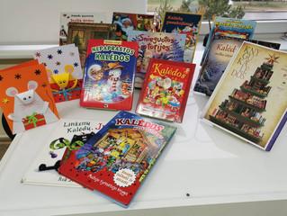 """""""Knygų Kalėdų"""" laikotarpis: šventinių atvirukų dirbtuvėlės"""