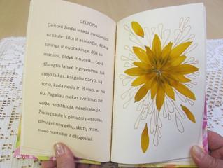 Pieštų knygų skirtukų paroda bibliotekoje