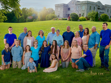 Clayshire Castle Family Session
