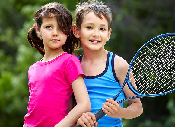 Tennis Summer Camp Half Day July-August (children 5-7) 9a.m. - 12p.m.
