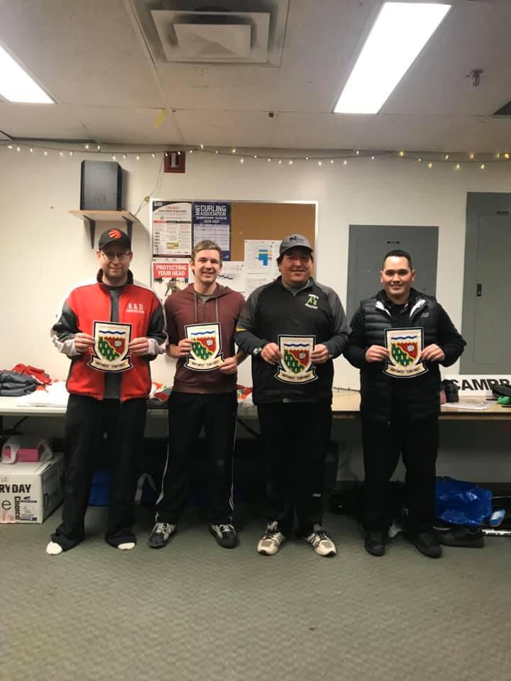 Team Robertson - Curling Club - 2021