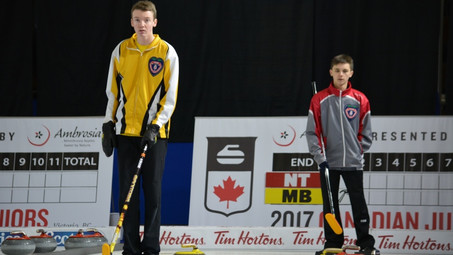 'I'm not intimidated. At all': N.W.T's U21 Men's Jr. Curling team believed to be