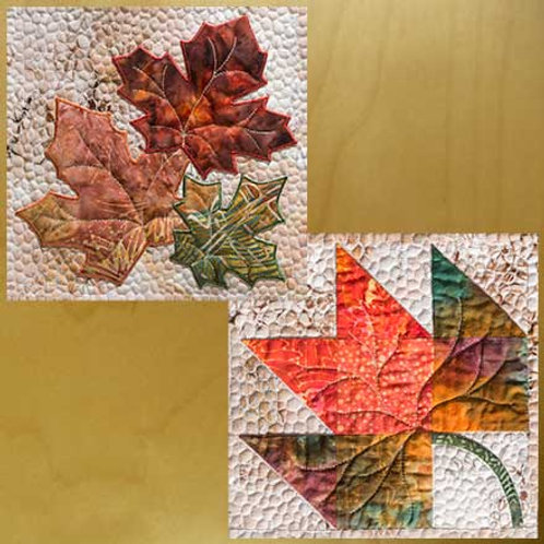 Maple Leaves  Applique & Pieced