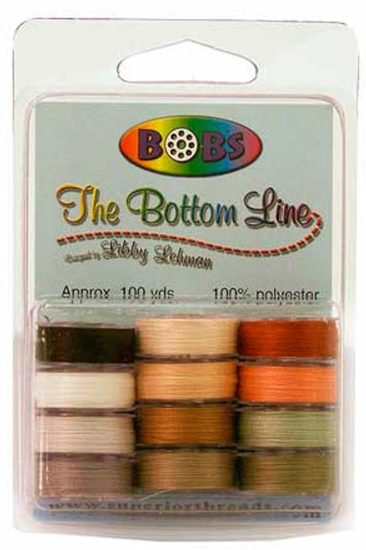 BOBs Variety Pack 2 Plastic-Sided Bobbins
