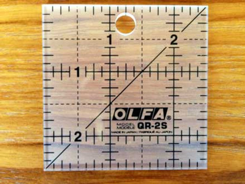 2 1/2 inch Square Ruler