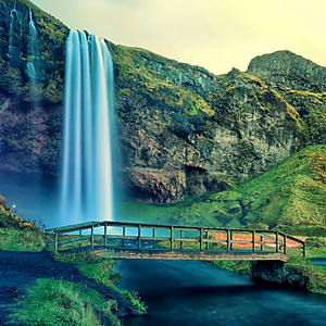 Waterfalls on Iceland