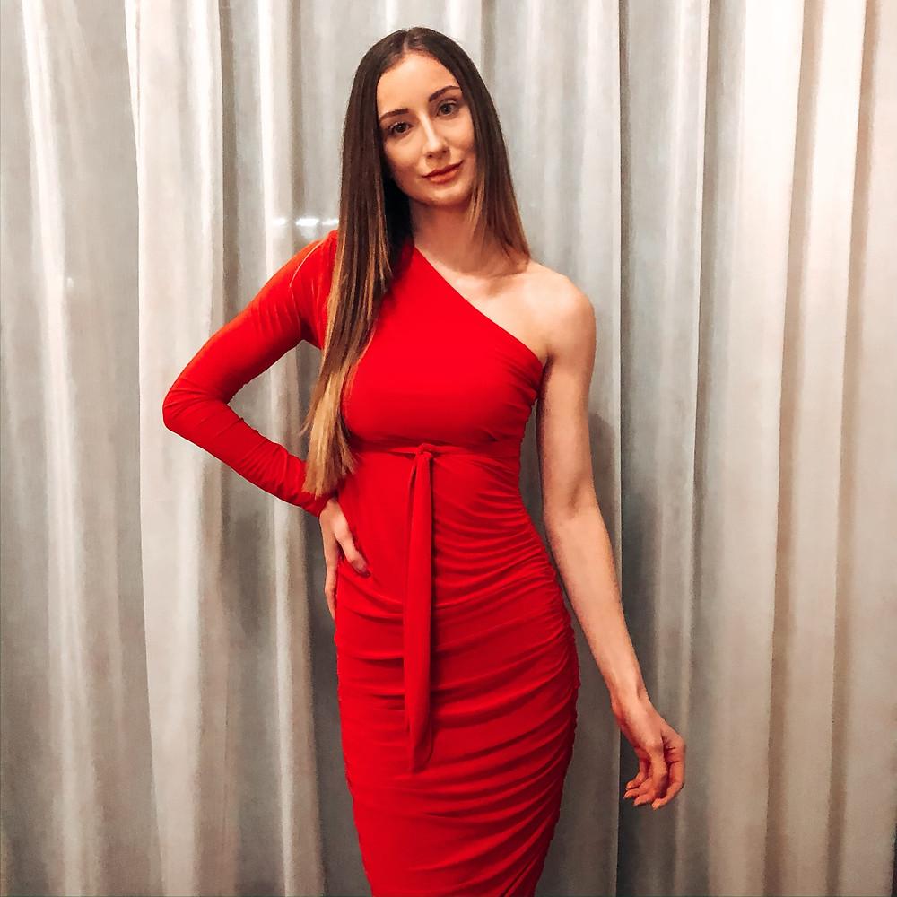 Leanne Holder - Red Dress