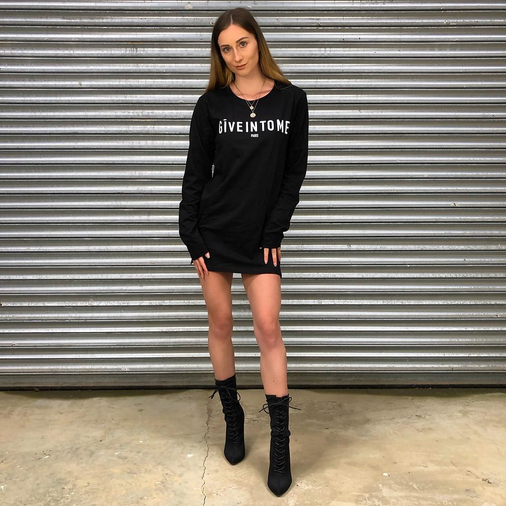 Femme Luxe Finery T-shirt Dress
