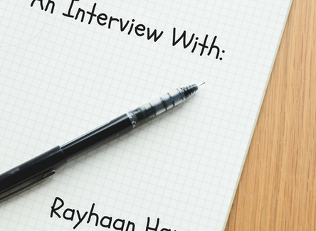 An Interview With: Rayhaan Hans