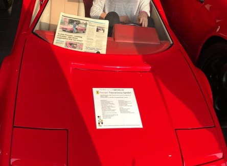 The Most Expensive Toy Car In The World... And I Sat In It!