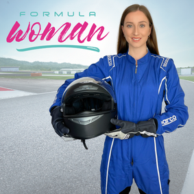 I'm Competing In Formula Woman!