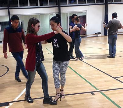 Tango Teacher at UQ Sport