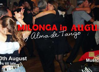 Alma De Tango Escuela Milonga - August 2016