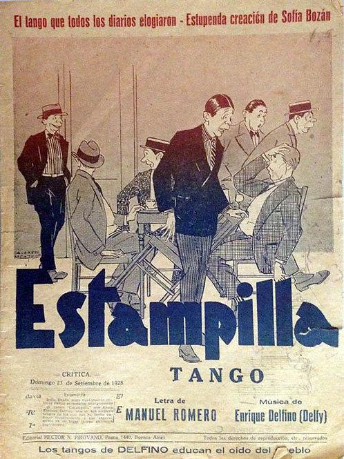 """""""ESTAMPILLA"""" Tango Score"""