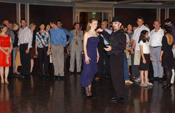 Tango Class with the Audience