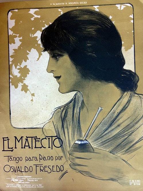 """""""EL MATECITO"""" Original Score by Osvaldo Fresedo"""