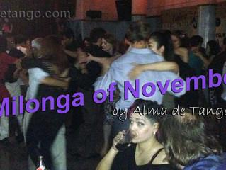 November's Milonga is On!