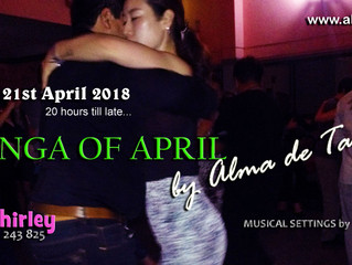 Our April Milonga is Scheduled!