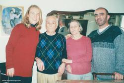 Juan Averna and Wife Blancanieves