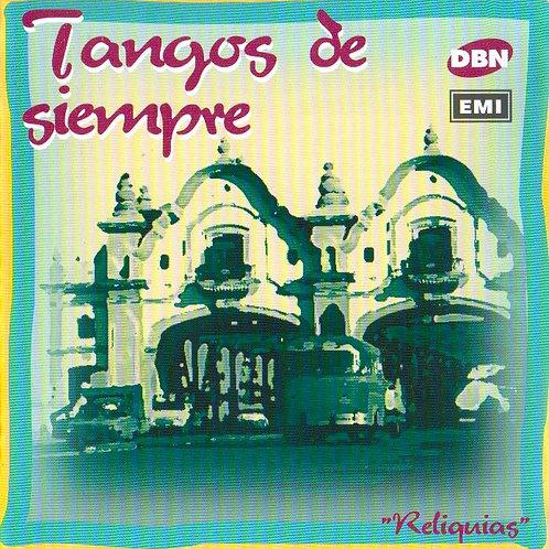 """TANGOS DE SIEMPRE """"Intérpretes Varios"""""""